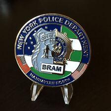 NYPD MANHATTAN NORTH BRAM Burglary Robbery Apprehension Module Challenge coin