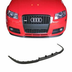 Für Audi A3 S3 8P Cup Spoiler Lippe Spoilerlippe Frontspoiler Stoßstange