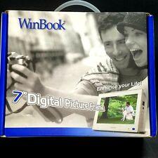 "Digital Photo Picture Frame 7"" WinBook JPEG Display"