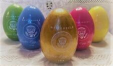2018 Official Pres Trump White House Easter Egg Roll Wooden Set of 5 Eggs In Box