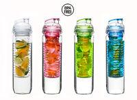Trinkflasche mit Früchteeinsatz Sagaform Flasche mit Fruit Kolben bPA frei
