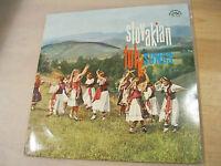 LP Vinyl Schallplatte Slovakian Folk Songs Slowakei Volkslieder Supraphon 1966