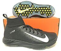 Nike Vapor Untouchable Speed Turf 2 Mens Football Shoes Size 9 Black 917169-001