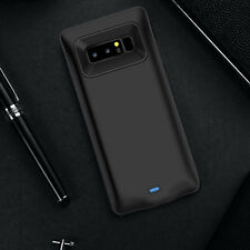 Samsung Galaxy Note 8 Extended Battery Case Cover/Type C Cable Input Mode-Black