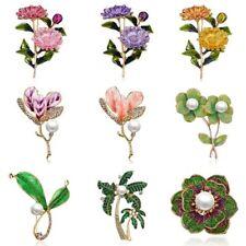 c2e76a199 Fashion Lady Jewelry Rhinestone Crystal Flower Wedding Bridal Bouquet Brooch  Pin