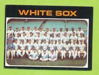 1971 Topps - Chicago White Sox Team Card (#289)