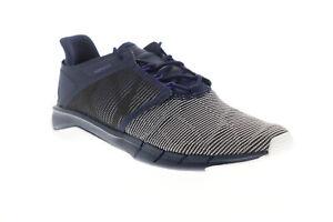 Reebok Fast Flexweave CN2536 Womens Blue Low Top Athletic Running Shoes 8
