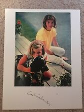 Caroline Kennedy signed in person picture jfk Jackie Onassis President