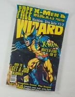 January 1997 Wizard Comics Magazine with Insert Card and Poster/CD Wolverine New