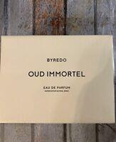 Byredo Oud Immortel Eau De Parfum Spray 3.3 fl.oz. 100 ml New Sealed Box