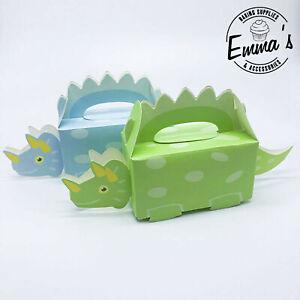 10 PCS Kids Dinosaur Children Party Candy Box Dino Happy Birthday Supplies Favor