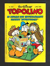 TOPOLINO N° 1557 - 29 SETTEMBRE 1985