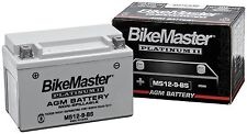 BikeMaster MS12-4L-B AGM Platinum II Battery for Honda NX50M Express SR 81-82