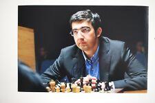 Gm vladimir kramnik signed foto autógrafo Autograph ip3 Grandmaster Chess