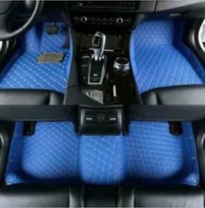 Fit Audi A1A3A4A5A6A7A8 Q3Q5Q7 TT RS4/5/6/7 S1/3/4/5/6//7/8 SQ5 R8 Car Floor Mat