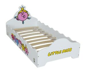 Little Miss - Wooden Junior Bed! Childrens Kids  Bed 'Mr Men' - by Kiddi Style