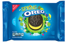 NEW EASTER LIMITED EDITION SPRING CREME OREO 15.35 OZ CHOCOLATE SANDWICH COOKIES