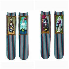 Disney Parks Haunted Mansion Stretching Room Portrait Socks Adult Size New