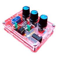 XR2206 Funktionsgenerator Signalgenerator Sine  Square Wave 1HZ - 1MHZ Red M2N2