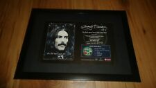 GEORGE HARRISON the dark horse years-framed original advert