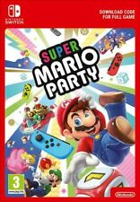 "SUPER MARIO PARTY. nintendo Switch-""digital download"" not code, not phisycal."