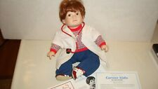 """Michael"" Porcelain Doll Danbury Mint Larry Noble ""Rare"""