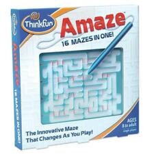 Thinkfun 05820 Changes Every Time you Play Amaze Game for Kids and Adult - Multi