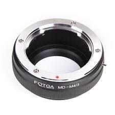 Minolta MD MC Lens to M4/3 Micro Four thirds Ring Adapter GF1 GF5 GX1 E-P5 E-PL1