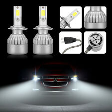 H7 110W 20000LM LED Headlight Conversion Kit Car Beam Bulbs Driving Lamps