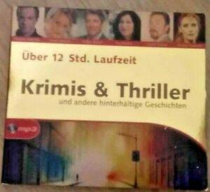 Hörbuch Krimis & Thriller (große Stimmen) über 12 Std.