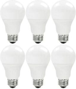 Polaroid LED Dimmable Bulbs Daylight 20W A21 LED 100W Equal 1600 lm 5000K 6 PK