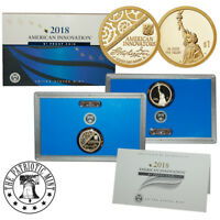2018-S American Innovation $1 Proof Coin (OGP/COA)