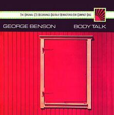 GEORGE BENSON - BODY TALK  CD NEW!