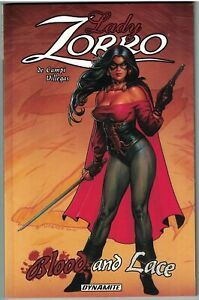 LADY ZORRO BLOOD AND LACE TP TPB $15.99srp Joseph Linsner  Rey Villegas  NEW