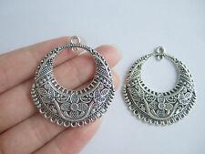 10pcs Antique Silver Chandelier Earring / Necklace Connectors Links Findings
