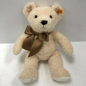 Steiff Knopf Im Ohr Teddy Bear 113376 Beige Mohair Cotton 2019 Cuddly Toy 193078