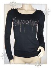 A - Haut T-shirt Fantaisie Noir  Kaporal   Chaines Taille XS