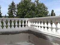 Balustraden Höhe 60 cm. Balustrade Baluster Marmor Geländer Betonwerkstein