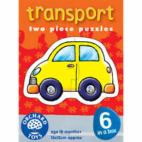 Orchard Transport Puzzles (6 puzzles) 203