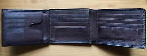 *Fossil* Wallet Brown Leather Trifold Wallet