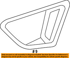 FORD OEM 11-13 Fiesta Front Bumper-End Cover Right AE8Z17E810CA