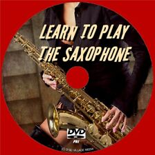 BEGINNERS SAXOPHONE LESSONS DVD EASY STEP BY STEP LEARN SAX TUITION BY EXPERTS