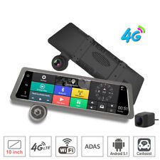 "10""Full Touch IPS 4G Car DVR Camera Android Wifi Bluetooth smart rearview mirror"