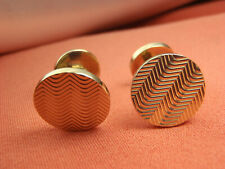 Tiffany & Co. 14k Solid Gold Beautiful Cufflinks Sophisticated Gentleman Gift