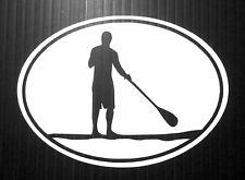 STAND UP PADDLE BOARD SUP GUY STICKER