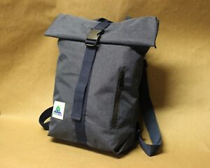 BuckleGear Backpack #1 - Zippered Roll Top Backpack - Fold Top Bag