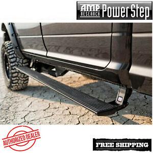 AMP PowerStep® Automaic Running Boards 99-07 Silverado 1500 EC CC W/ Light Kit