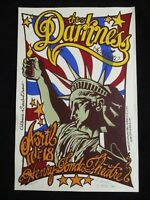 Rock Roll Concert Poster The Darkness Michael Motorcyle Liberty SN LT-303