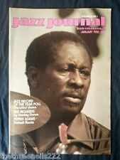 JAZZ JOURNAL INTERNATIONAL - JAN 1980 - PANAMA FRANCIS