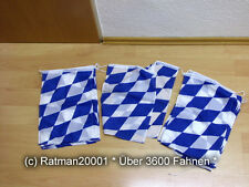 Fahnen Flagge Flaggenkette Bayern Raute 15 Fahnen